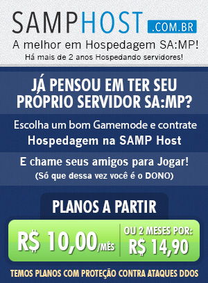 Hospedagem de Servidores SA-MP